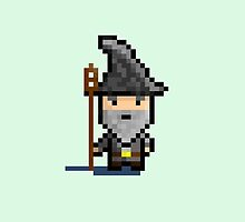 8-Bit Gandalf by CameronMDesign