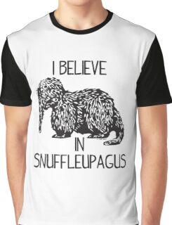 I Believe In Snuffleupagus Graphic T-Shirt