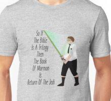 Elder Cunningham The Jedi- Book Of Mormon Unisex T-Shirt