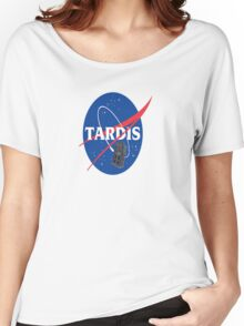 Tardis Nasa Space Program Women's Relaxed Fit T-Shirt