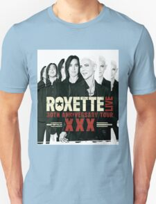 Roxette 30th Anniversary Tour Unisex T-Shirt