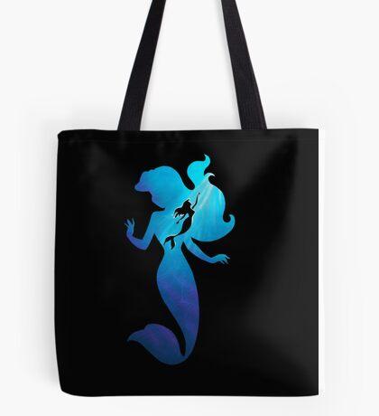 Under The Sea - Black  Tote Bag