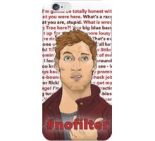 Star Lord #nofilter in red iPhone Case/Skin