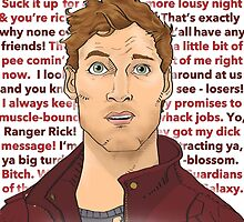 Star Lord #nofilter in red by cinthdegree