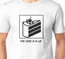 The Cake is a Lie ;( Unisex T-Shirt