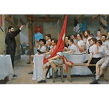 The Turner Banquet - Ferdinand Hodler Photographic Print