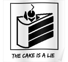The Cake is a Lie ;( Poster