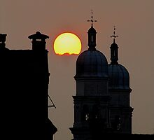 Sunset Over Venice by © Loree McComb