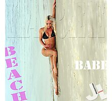 Laree Parker 'Beach Babe'  Photographic Print