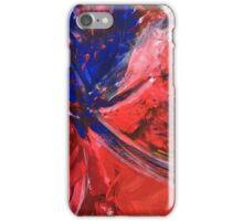 Red Abstract 2 iPhone Case/Skin