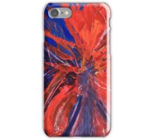Red Abstract 3 iPhone Case/Skin