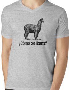 Cómo se llama? Mens V-Neck T-Shirt