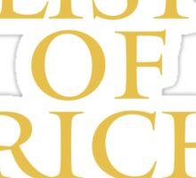 The List of Jericho Sticker