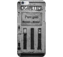 Cigarette Machine  iPhone Case/Skin