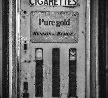 Cigarette Machine  by Marsstation