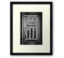 Cigarette Machine  Framed Print