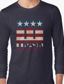 Trask Industries - Vintage Flag Long Sleeve T-Shirt