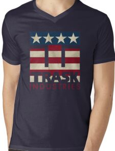 Trask Industries - Vintage Flag Mens V-Neck T-Shirt