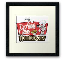 Finn's Place Framed Print