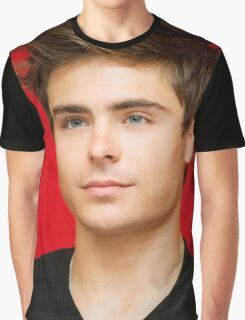 HANDSOME ZAC EFRON Graphic T-Shirt