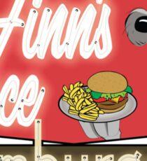 Finn's Place Sticker