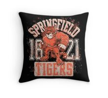 SpringField Tigers Throw Pillow