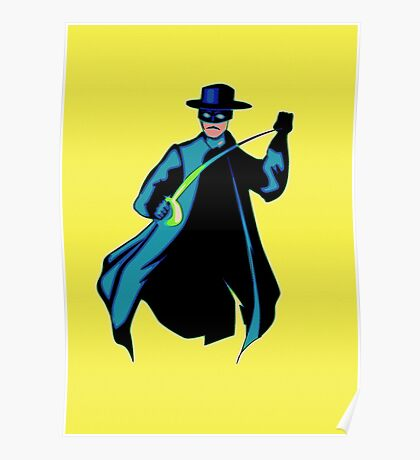 Zorro Pop Art Poster