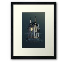 English House Framed Print