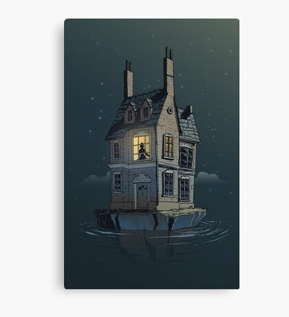 English House Canvas Print