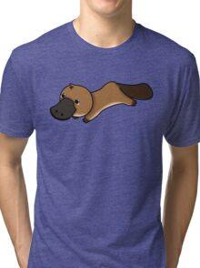 Kawaii platypus Tri-blend T-Shirt