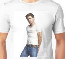 HANDSOME ZAC EFRON TEL01 Unisex T-Shirt