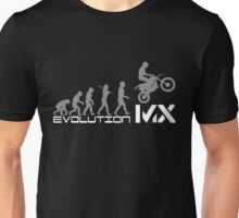 Funny Evolution De Motocross Unisex T-Shirt
