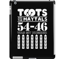 TOOTS AND THE MAYTALS GIFT iPad Case/Skin