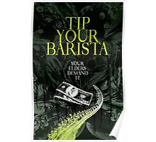 Tip Your Eldritch Barista  Poster