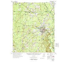 USGS TOPO Map Arkansas AR Warren 260362 1978 62500 Photographic Print
