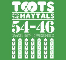 TOOTS AND THE MAYTALS GIFT One Piece - Short Sleeve