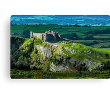Carreg Cennen Castle Brecon Beacons Canvas Print