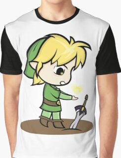 Link Legend of Zelda Graphic T-Shirt