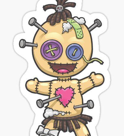 Voodoo Doll Sticker