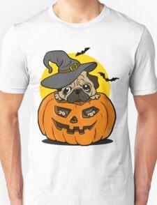 Halloween pug dog Unisex T-Shirt