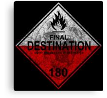 Final Destination - Hazmat Canvas Print