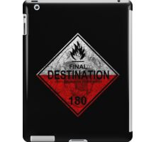 Final Destination - Hazmat iPad Case/Skin