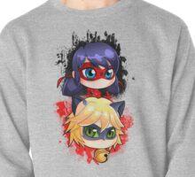 Ladybug y Chatnoir vertical Pullover