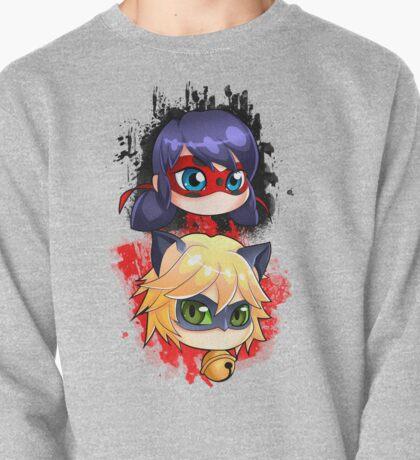 Ladybug y Chat noir vertical Pullover