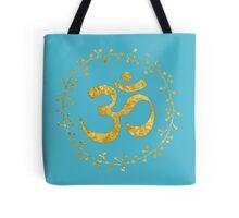 yoga meditation om symbol Tote Bag