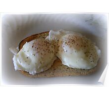 Poached Eggs Poster