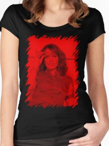 Tina Fey - Celebrity Women's Fitted Scoop T-Shirt