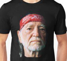 WILLIE NELSON TEL01 Unisex T-Shirt