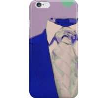No Head Suit Pop Art iPhone Case/Skin