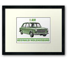 I am Reginald Molehusband Framed Print